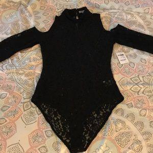 e67d2e60db0f Charlotte Russe Other - Never Worn Sexy Black Rodney lace bodysuit Romper